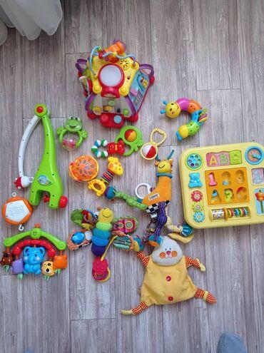 пакеты для заморозки бишкек в Кыргызстан: Продаю детские игрушки пакетом: мульти бокс полностью рабочий в полном