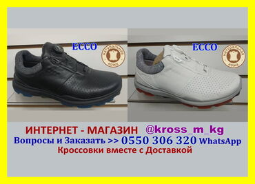 спортивные кроссовки мужские в Кыргызстан: Ecco BOA Closure System мужская обувь кроссовки Экко с диском система
