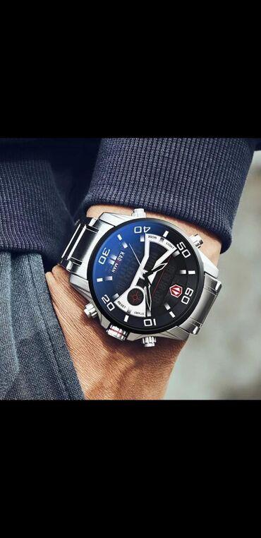 Kişi qol saatı.Model KADEMANSaat yenidir.Saatın özünəməxsus çantası və