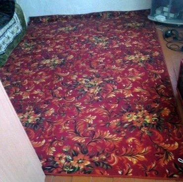 Палас. 3×2.состояние отлично.целый и чистый.пишите смс в Бишкек