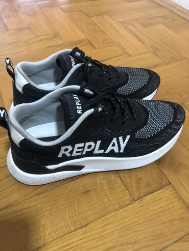 Replay - Srbija: Replay patike novo,38 veličina, obuvene dva puta, gazište 24,5