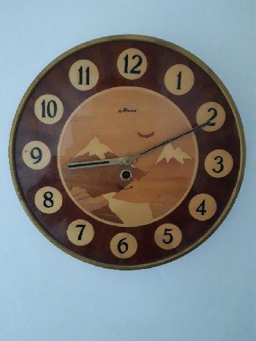 Антикварные часы - Кыргызстан: Часы настенные механические Маяк СССР, для коллекции и декорации под