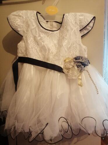 Dečija odeća i obuća - Gornji Milanovac: Prelepa, jednom obucena haljinica. Veličina 1. Made by Turska