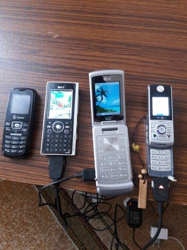 Другие мобильные телефоны - Кыргызстан: Продаю телефоны (CDMA) все в рабочем состоянии. Работали на Fonex. За