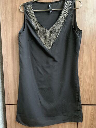 черное платье футляр в Кыргызстан: Продаю новое платье - футляр. Размер 34 но подходит на 36. Платье до