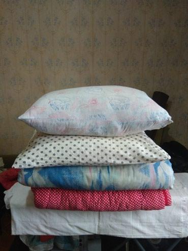 Одеяла ватные,подушки пуховые по 200сом в Бишкек