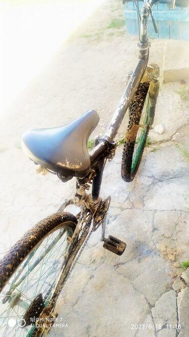 Спорт и хобби - Талас: Продаю велосипед спортивный харошый велик только скорость и тормоза н