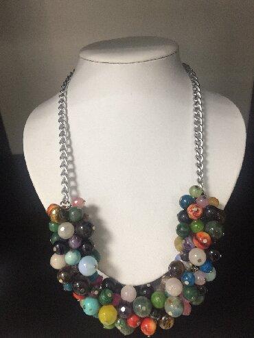 Jewellery Sets - Srbija: Ogrlica mix prirodni kamen