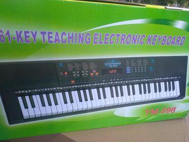 Sintezator Pianino 5 Oktava həcmində mikrafonlu &-___RK GROUP Musi