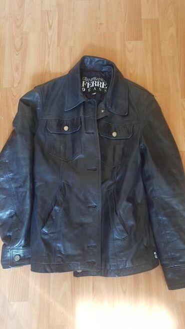 Kozne jakne - Srbija: Kvalitetna kao nova kupljena u Nemackoj VEL M/L kozna firmirana