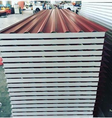 Xırdalan şəhərində Sendvic paneller zavod qiymetile istenilen materialdan hazirlanmasi.
