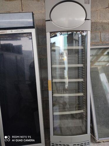 stolovye-pribory-bez-nozha в Кыргызстан: Б/у Холодильник-витрина Белый холодильник
