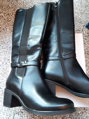 NOVE Safran cizme postavljene krznom sa stiklom stikla 4 cm