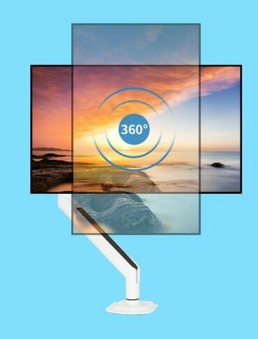 проекторы 640x480 с wi fi в Кыргызстан: Кронштейн для монитора до 32 дюйма с газопоршневым механизмом