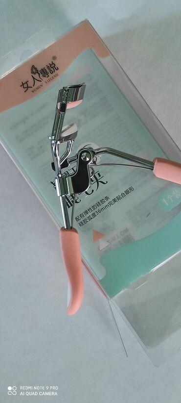 Зажим для завивки с силиконовой лентой предотвращает повреждение век