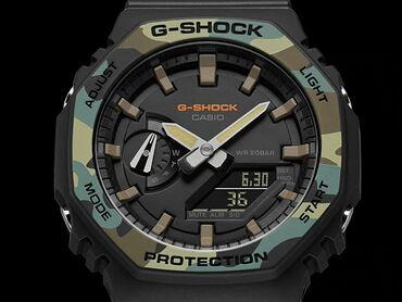 chasy g shock kachestvennaja replika в Кыргызстан: G-SHOCKМодель часов GA-2100___Функции : секундомер, будильник, мировое
