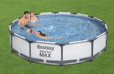 Dimenzije bazena: 366 x 776Volumen (90% kapaciteta): 6473 LStijenke