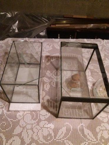 Akvarijum manji i veci za jednu cenu i gratis unutrasnja dekoracija pr - Sombor