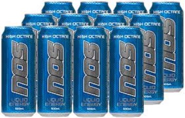 NOS Energy Drink High Octane 500ml 12pk σε Panagia