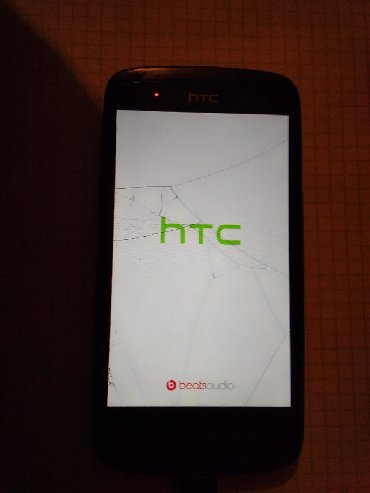 htc 530 в Кыргызстан: Продаю телефон HTC треснут дисплей на работу не влияет, рабочий, надо