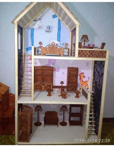 столовая для кукол в Азербайджан: Kukla evciyi satilir, təmiz taxtadan, keyfiyyətli, gözəl və yeni. Mebe
