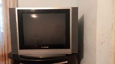 Продаю телевизор с тумбой. Работает. +звонить