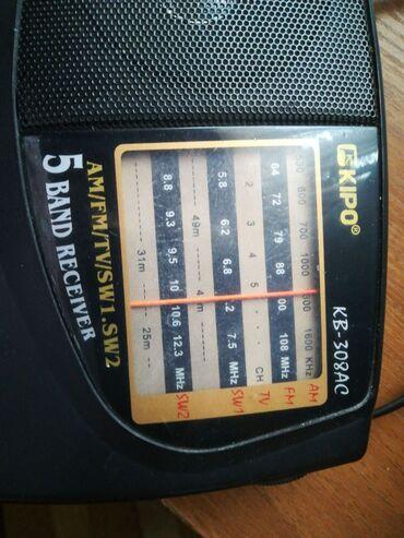 Радиоприемник Кipo 308АС в рабочем состоянии 700 сом