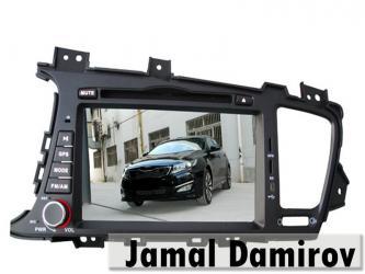 Bakı şəhərində Kia Optima K5 üçün DVD-monitor, DVD-монитор для Kia Optima K5.
