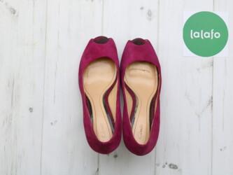 Шикарные женские открытые туфли на каблуке Clarks,р.39 Длина подошвы