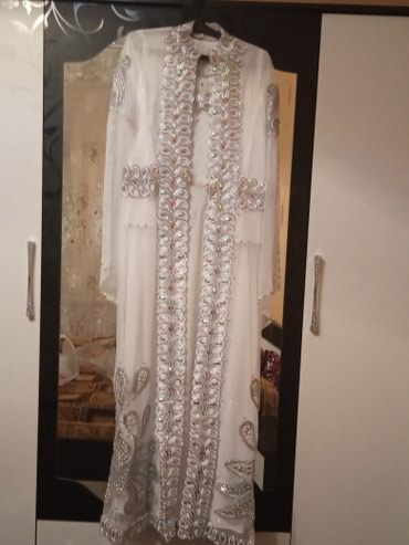 Наряд для невесты,платье с нарядным накидом+головной убор в Бишкек