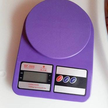 Кухонные весы. Удобная модель с в Бишкек