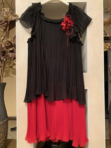 шифона в Кыргызстан: Платье шифон гафре 54-56-58