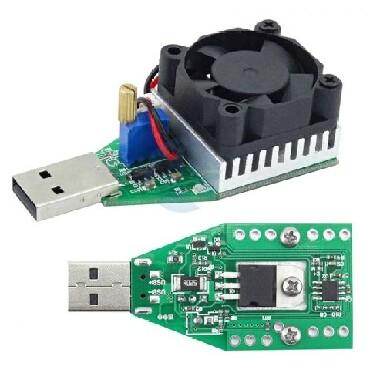 Другие аксессуары для мобильных телефонов в Сабаиль: Электронная нагрузка USB 3.7-13V, 3A, 15Вт