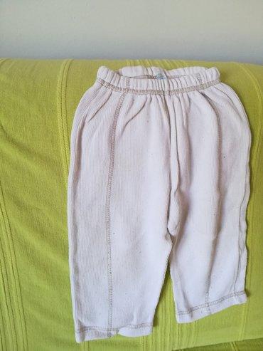 Dečije Farmerke i Pantalone   Vranje: Kvalitetne pamučne pantalone vel 2 bele boje, obim struka bez