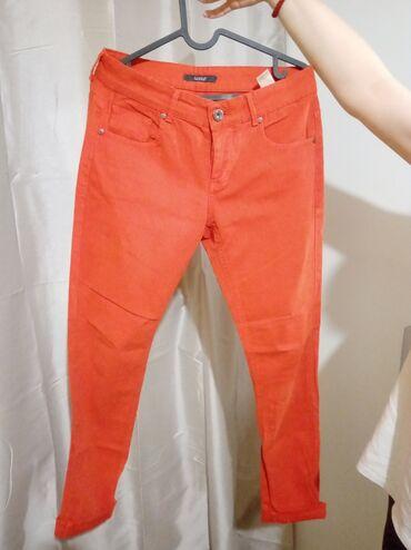 Pantalone legendu - Srbija: Pantalone Legend, cigla-boje, jednom obucene :)