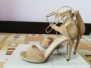 Ženska obuća | Lazarevac: Sandale na vezivanje, broj 39