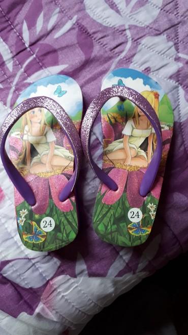 детские лаковые туфли в Азербайджан: Детские летние шлепанцы 24 размер