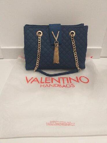 OPISOriginal Valentino torba potpuno nova, sa serijskim brojem i