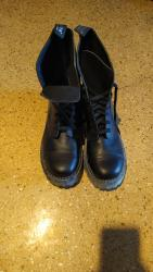 винтажные мужские ботинки в Азербайджан: Ботинки зимние, новые. Кожа. Прозводство Турции. размер 46