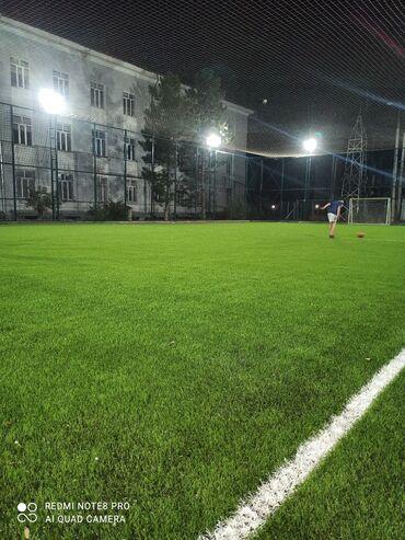 Аренда футбольных полей . Адрес Мира Ахунбаева. новое поле