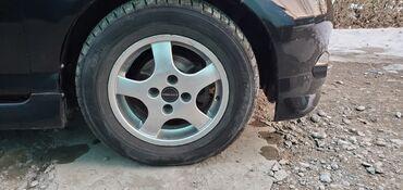 жесткий д в Кыргызстан: Диск + шины  R14. 4×100 фит,демио,гольф,пассат,нексия и.т.д