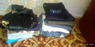женские платья дешево в Кыргызстан: Продам вещи женские 44-46 размер.брюки,платья,джинсырубашки и