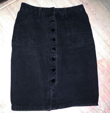 Женская юбка на пуговицах, в идеальном состоянии практически не
