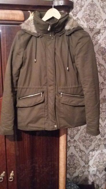 Куртки - Кок-Ой: Zara парка в хорошем состоянии носила пару раз! качество хорошое !