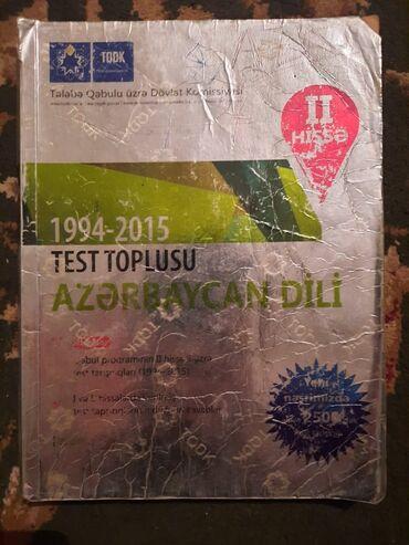 tqdk test toplusu в Азербайджан: Azərbaycan dili Tqdk test toplusu 2ci hissə.iCi yazılmayıb.Catdirilma