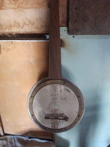 Другие музыкальные инструменты - Кыргызстан: Банжо 12 струнная сост нормальное под восстановление