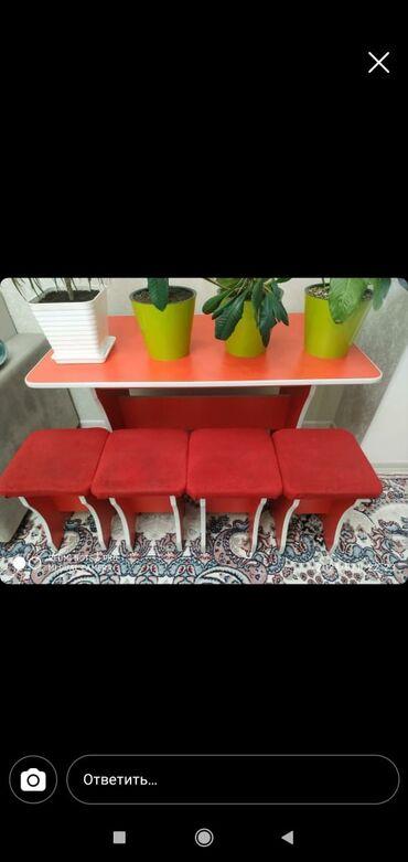 продам кухонный стол in Кыргызстан | СТОЛЫ: Продаю кухонный стол в отличном состоянии