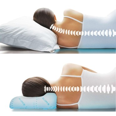 правильное постельное белье в Кыргызстан: Преимущества подушек с памятью:  отлично сохраняет контур головы, шеи