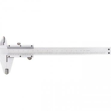 Штангенциркуль, 150 мм, цена деления 0,02 мм, металлический, с