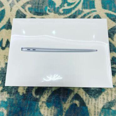 Ноутбуки и нетбуки - Бишкек: MacBook Air 2020 space gray, silver, 8/256gb. Новый, запечатанный. Офи